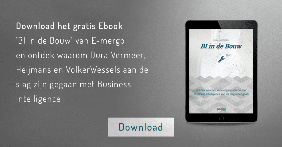 BI in de bouw, ebook, bouw, business intelligence ebook