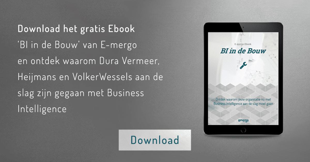 BI in de bouw, ebook, bouw, business intelligence ebook