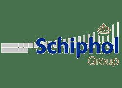 schiphol logo,koniklijke schiphol group,