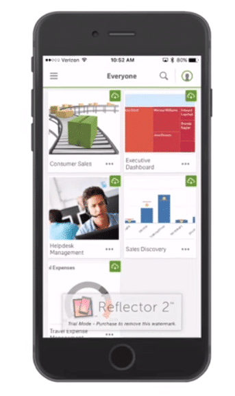 Qlik Sense iPhone App