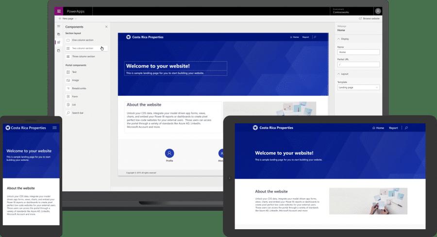 Portal,Portals, power apps, microsoft,