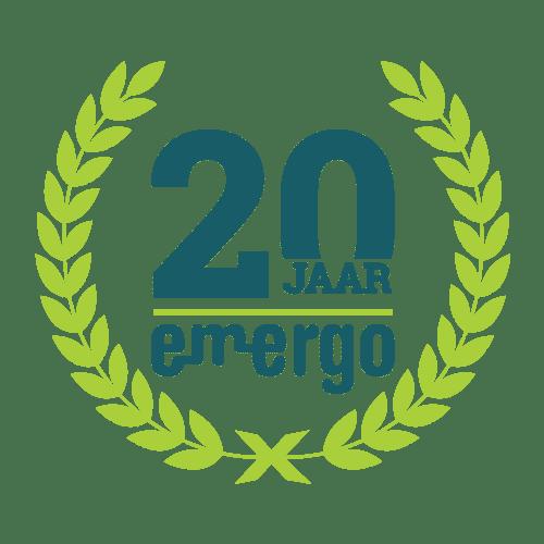 E-mergo, jubileum, 20 jaar